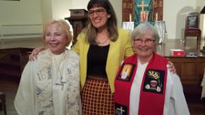 Bridget Mary Meehan, Kate Kelly, Janice Sevre-Duszynska