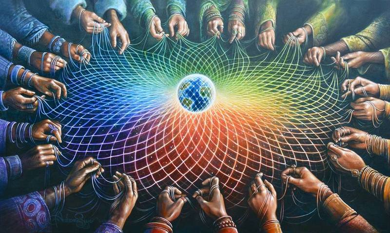 Join the Spirit, Moving in Circles, Changing the World!